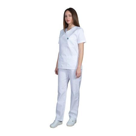 ιατρική στολή λευκή