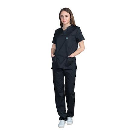 ιατρική στολή μαύρη