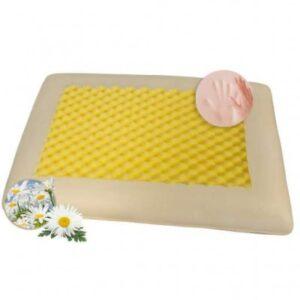 Μαξιλάρι Ύπνου Ανατομικό, Υποαλλεργικό με Εμπλουτισμό Χαμομηλιού