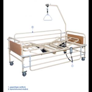 Νοσοκομειακή κλίνη Ηλεκτρική Σταθερού ύψους KN 200H Πολύσπαστη