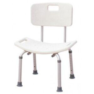 Καρέκλα Μπάνιου Με Πλάτη