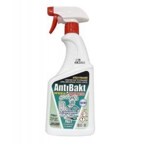 Antibakt Universal απολυμαντικό - καθαριστικό επιφανειών 710ml