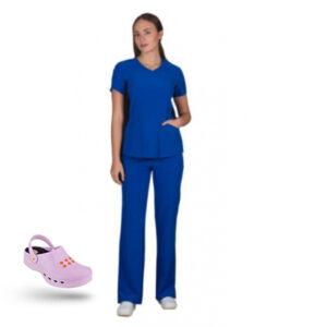 Προσφορά Σετ Σαμπό Wock Nube (03) ροζ & Ιατρική Στολή Stretch bolioti.gr